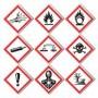 GHS , Chemie &  Gefahrengut Etiketten