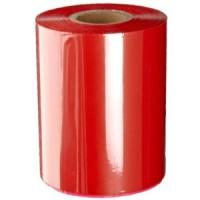 Rote Folie, glänzend metallisch für Primera FX400e/FX500e & DTM FX510e/ FX810e, 220mm breit x 200m lang