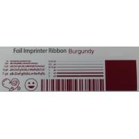 Burgunder Folie, für Primera & DTM FX400e/FX500e/FX510e 110mm breit x 200m lang