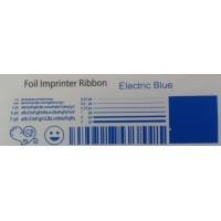 Elektrisch blaue Folie, für Primera & DTM FX400e/FX500e/FX510e 110mm breit x 200m lang
