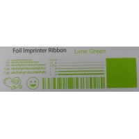 Limetten Grüne Folie, für Primera & DTM FX400e/FX500e/FX510e 110mm breit x 200m lang