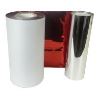 Rote Folie, glänzend metallisch für Primera FX400e/FX500e & DTM FX510e/ FX810e, 110mm breit x 200m lang