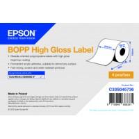 Epson Etikettenrolle, BOPP matt, passt für: Epson...