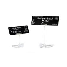 Evolis Plastikkarte, schwarz, lang, 500 Stück 50 x 120 mm