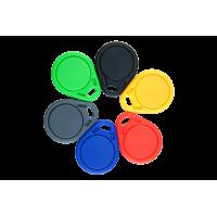 RFID Schlüsselanhänger/Keyfob BASIC in verschiedenen Farben und Wunschchip