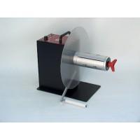 CAT-3-CHUCK - externer Etiketten-Ab-/Aufwickler 155mm breite 300mm Durchmesser Schnellspanner