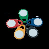 RFID Schlüsselanhänger/Keyfob DROP mit Wunschfarbe und Wunschchip