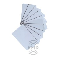 MIFARE® 1K Classic PVC Plastikkarte, bedruckbar mit div. Kartendruckern, Format: ca. 85,72 x 54,03 x 0,80 mm
