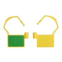 RFID HF ISO 14443A Kabelschloß für die Instandhaltung, Farbe Gelb