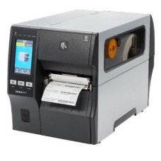 Schneller Industrie Etikettendrucker Zebra ZT411, 12 Punkte/mm (300dpi), Peeler, Disp. (Farbe), RTC, EPL, ZPL, ZPLII, USB, RS232, Bluetooth, Ethernet