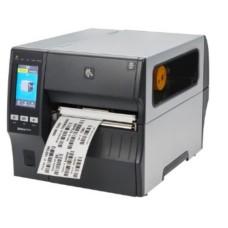 178mm breiter Industrie Etikettendrucker Zebra ZT421, 12 Punkte/mm (300dpi), Peeler, Rewinder, Disp. (Farbe), RTC, EPL, ZPL, ZPLII, USB, RS232, Bluetooth, Ethernet
