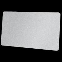 Zebra Premier Karte, silber aus PVC, 30mil (0,76mm) Stärke im ISO Kartenformat bedruckbar