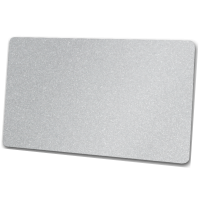 Zebra Premier Karte, silber aus PVC, 30mil (0,76mm...