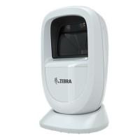 Kleiner Stand Barcodescanner Zebra DS9308, 2D, SR, Multi-IF, weiß