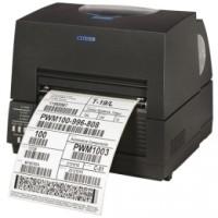 Drucker für breite Thermoetiketten Citizen CL-S6621, ZPLII, Datamax, Dual-IF, schwarz