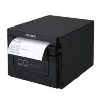 Bondrucker für Untertischmontage: Citizen CT-S751, USB, 8 Punkte/mm (203dpi), Cutter, schwarz