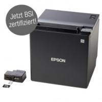 Epson TM-m30II-H, Fiscal DE, TSE: 5 Jahre, USB, Bluetooth, Ethernet, 8 Punkte/mm (203dpi), ePOS, schwarz