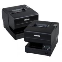 Epson TM-J7700, USB, Ethernet, Cutter, schwarz - Tintenstrahldrucker für Bons und Belege