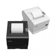 Leistungsstarker Thermodrucker Epson TM-T88VI, USB, RS232, Ethernet, schwarz