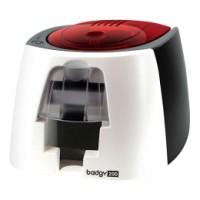 Komplettpaket für Kartendruck-Einsteiger Evolis Badgy200, einseitig, 12 Punkte/mm (300dpi), USB