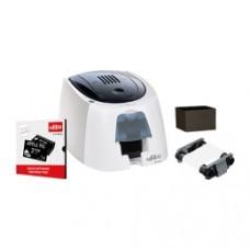 Edikio ACCESS Besucherausweis Lösung: Kartendrucker, einseitig, 12 Punkte/mm (300dpi), USB & Software