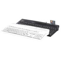 Kassentastatur mit alphanumerischem Layout und Magnetkartenleser PrehKeyTec MCI 3100, QWERTY, MKL, USB, weiß