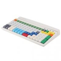 Professionelle Tastatur für den Kassenbereich PrehKeyTec MCI 96, Num., USB, schwarz