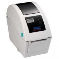 Platzsparender Thermodirekt-Drucker TSC TDP-225, 8 Punkte/mm (203dpi), RTC, TSPL-EZ, USB, RS232