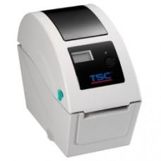 Kleiner Wristbanddrucker TSC TDP-324, 12 Punkte/mm (300dpi), Disp., TSPL-EZ, USB, Ethernet
