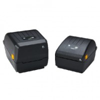 Thermotransfer Etikettendrucker Zebra ZD230, 8 Punkte/mm (203dpi), EPLII, ZPLII, USB, Bluetooth (4.1), WLAN, schwarz