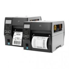 Schneller Midrange-Thermodrucker Zebra ZT410, 24 Punkte/mm (600dpi), Peeler, Rewinder, RTC, Display, EPL, ZPL, ZPLII, USB, RS232, Bluetooth,