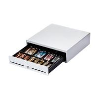 Flexible Miniatur-Kassenlade Metapace K-2, weiß, Vorführgerät