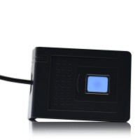 RD300-FH1 RFID USB HF Leser/Schreiber ISO15693 14443A 14443B Felica DESFire® NTAG203 13,55MHz   mit Fingerabdruck Leser