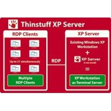 Thinstuff - XP/VS Server Professional 3 User-Lizenz *empfohlen!*