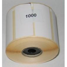 Etiketten f. Epson TM-L60: 56x25mm leicht abziehbar