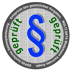 Übergabeprotokoll mit Einrichtung der Warengruppen, Produkte Firmenname und Mwst