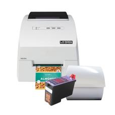 Liquid-Set 1 (farbiger Druck) - Inkjet Etikettendrucker LX500 mit passenden Etiketten und einer Patrone