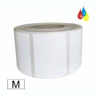 Dry Toner Etikettenrolle Papier matt 127mm x 102mm (BxH), Kern: 76mm (3'') AD: 20,3cm (8'') für OKI Pro 1040 / 1050 & QL-300S Laser